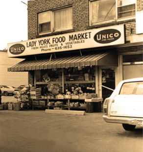Lady York Foods original store
